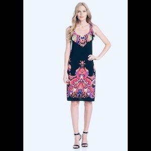 NWOT ECI New York Beautiful paisley midi dress